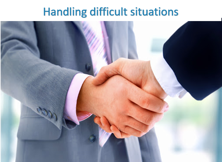 Handling Difficult Situations in Business